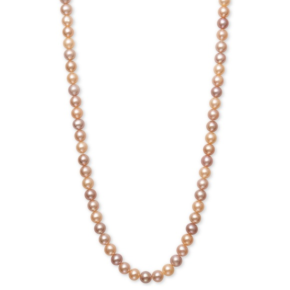 "Belle de Mer 54""cultured freshwater pearl necklace"